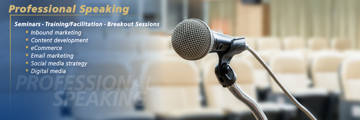 Offering Professional Speaking